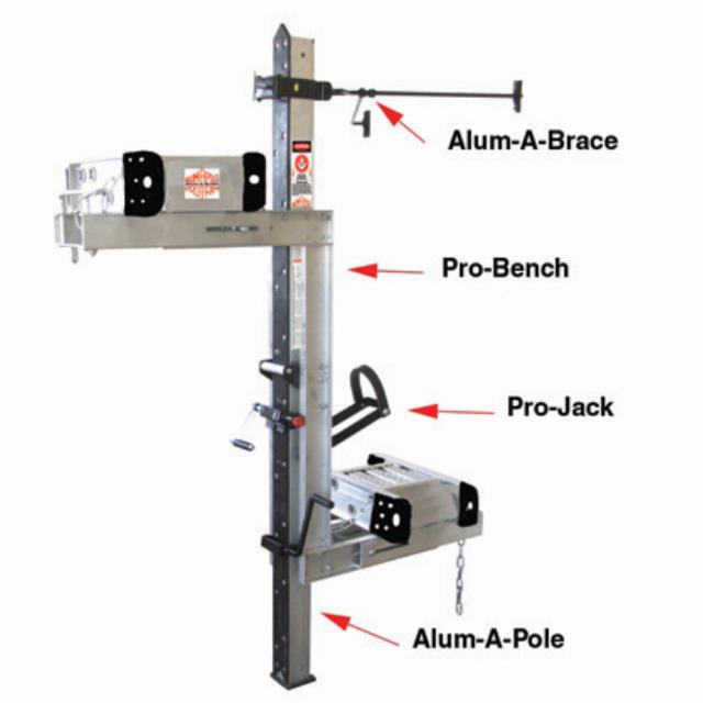 Where to find PUMP JACK SCAFFOLD - 3 JACK 6  KIT in Tacoma