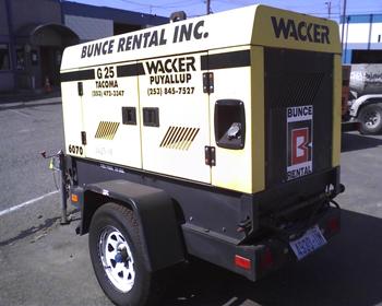 Generator 20000 watt towable rentals Tacoma WA | Where to
